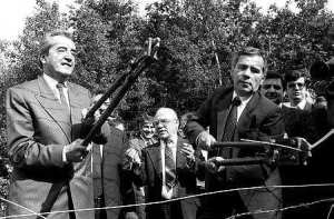 the opening of the iron curtain - History of Hungary