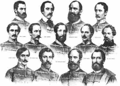The 13 Martyrs of Arad - History of Hungary