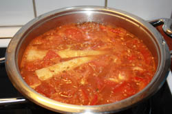 Cooking Hungarian Goulash Soup