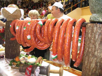 Hungarian Sausage Competition Ready Sasusage