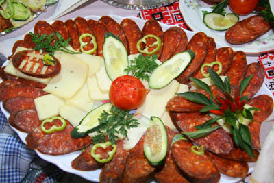 Hungarian Sausage Competition Sausage Art