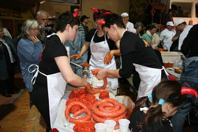 Hungarian Sausage Competition
